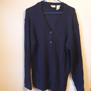 BOBBI BROOKS NAVY BLUE CARDIGAN 18W/20W